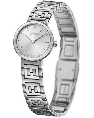 Часы серебряный Fendi