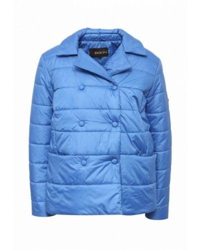 Утепленная куртка весенняя синий Baon