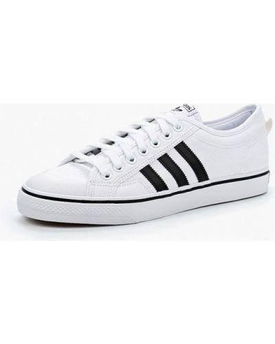 Белые низкие кеды Adidas Originals