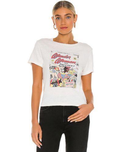 Bawełna bawełna klasyczny biały t-shirt Re/done