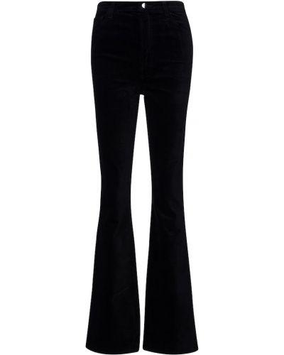 Ватные хлопковые черные брюки J Brand