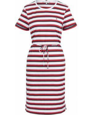 Платье макси в полоску футболка Tommy Hilfiger