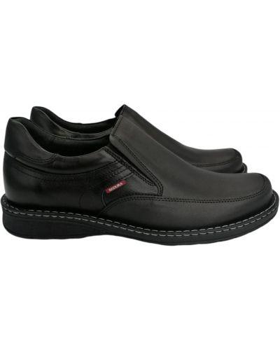 Кожаные туфли - черные Badura