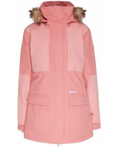 Куртка горнолыжная удлиненная - розовая Dc Shoes