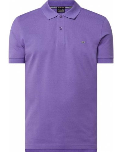 T-shirt bawełniana - fioletowa Christian Berg Men