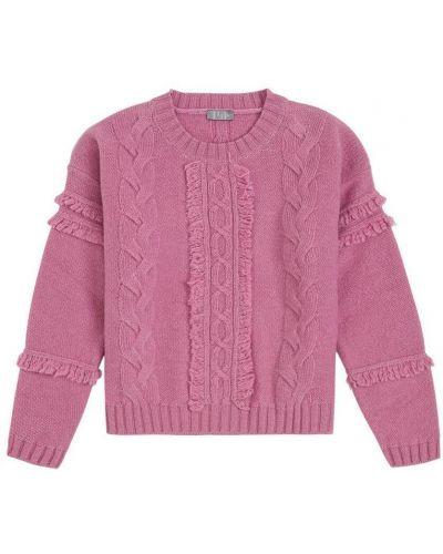 Różowy sweter wełniany Il Gufo
