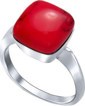 Кольцо из серебра красный Silver Wings