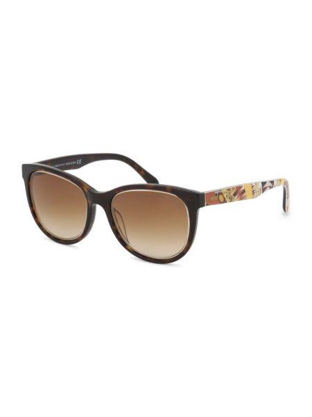 Brązowe okulary na lato Emilio Pucci
