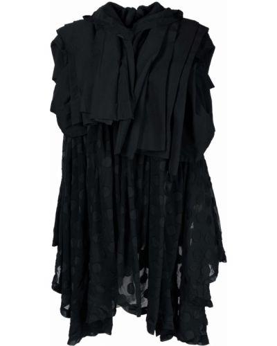 Пиджак с капюшоном - черный Comme Des Garçons