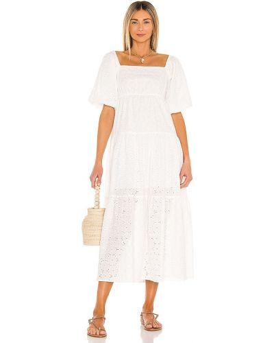Открытое белое платье мини с открытой спиной Minkpink