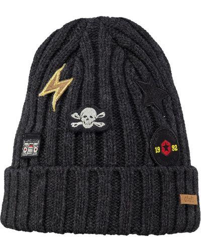 Зимняя шапка трикотажная с отворотом Barts