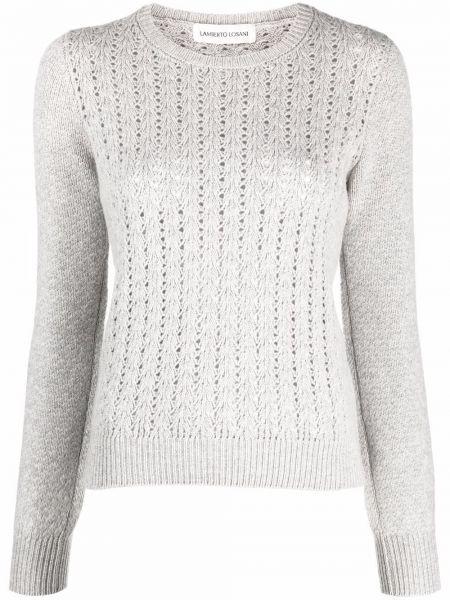 Кашемировый свитер - серый Lamberto Losani