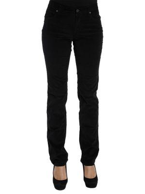 Хлопковые брюки - черные Cerruti 18crr81