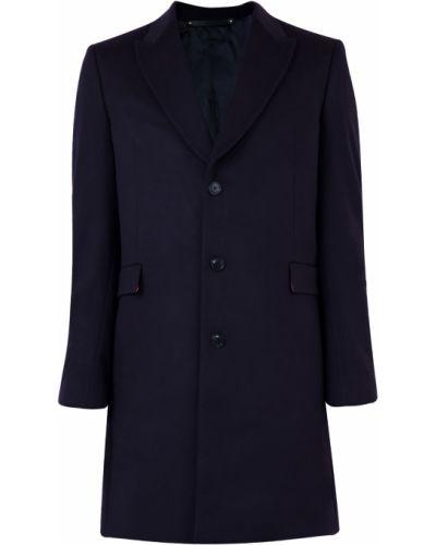 Пальто однобортное прямое Paul Smith
