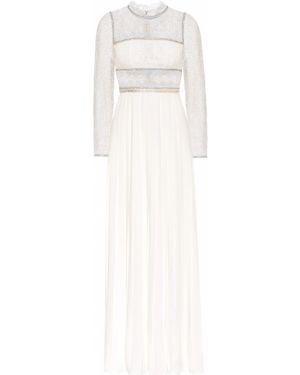 Платье макси с пайетками классическое Self-portrait