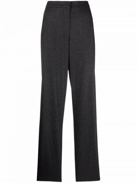 Серые шерстяные брюки Giorgio Armani