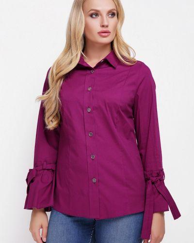 Фиолетовая блузка Vlavi
