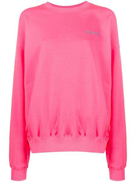 Bluza z haftem różowy Irene Is Good