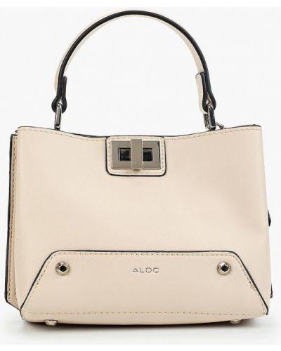 Кожаная сумка из искусственной кожи розовый Aldo