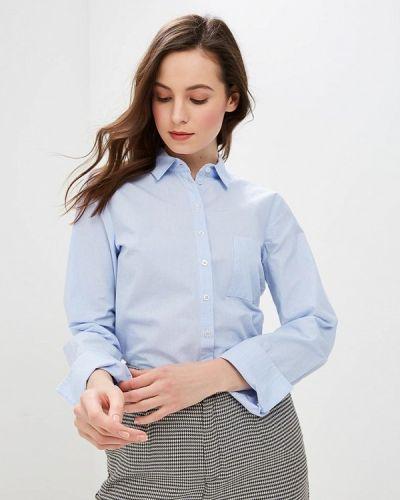 Голубая рубашка с длинным рукавом Gerry Weber