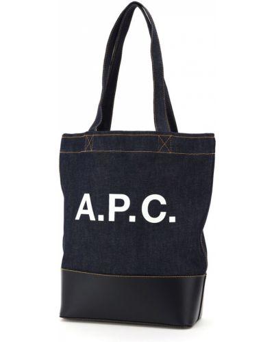 Niebieska torba A.p.c.