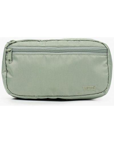 Текстильная поясная сумка - зеленая Levi's®