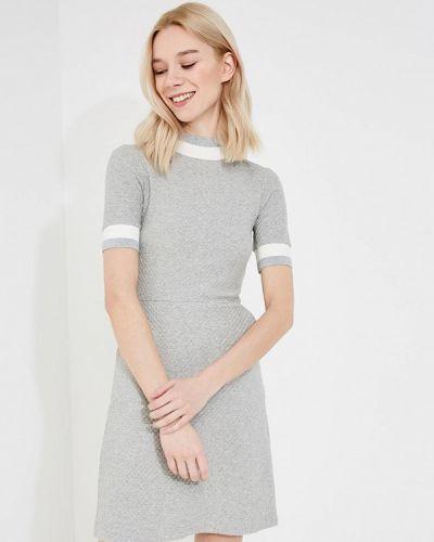 Серое платье весеннее French Connection