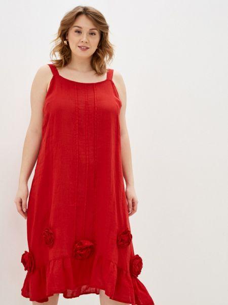 Красный сарафан Sophia