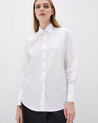Белая рубашка с длинными рукавами The Kooples
