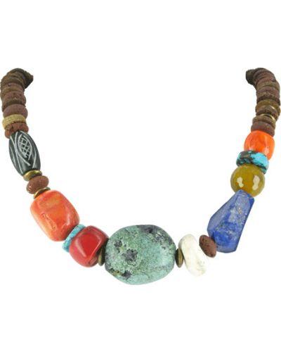 Ожерелье с камнями - бирюзовое Nature Bijoux