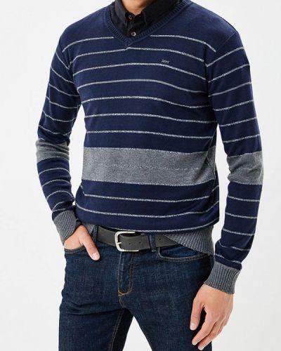 Синий пуловер Mezaguz