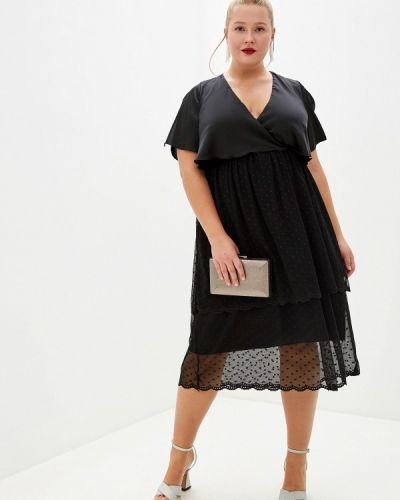 Черное вечернее платье Kitana By Rinascimento