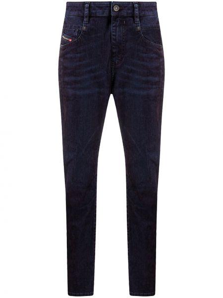 Bawełna bawełna niebieski jeansy chłopaki z kieszeniami Diesel