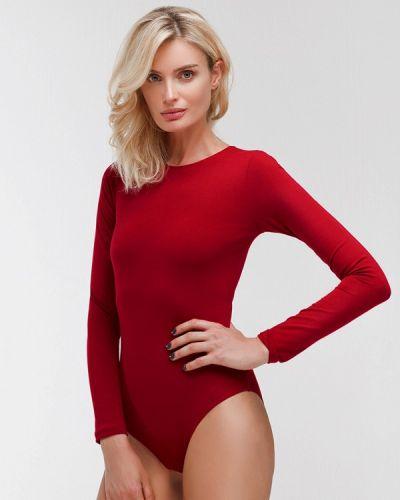 Боди блуза бордовый Dari Co