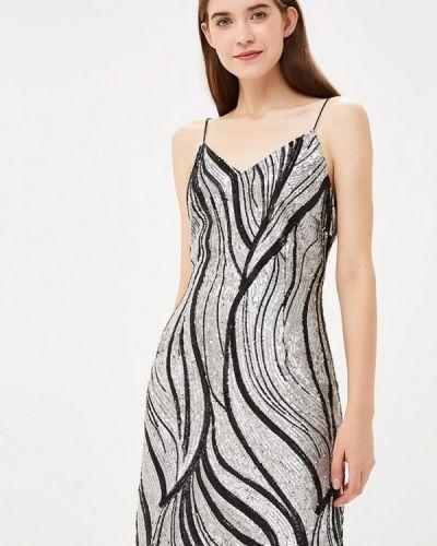 Платье осеннее серое Sh