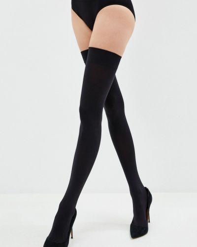 Чулки - черные Mademoiselle
