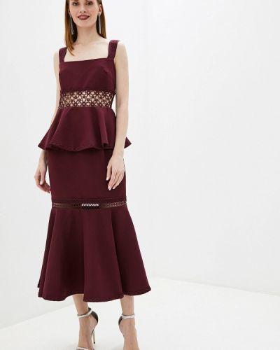 Вечернее платье бордовый декаданс True Decadence