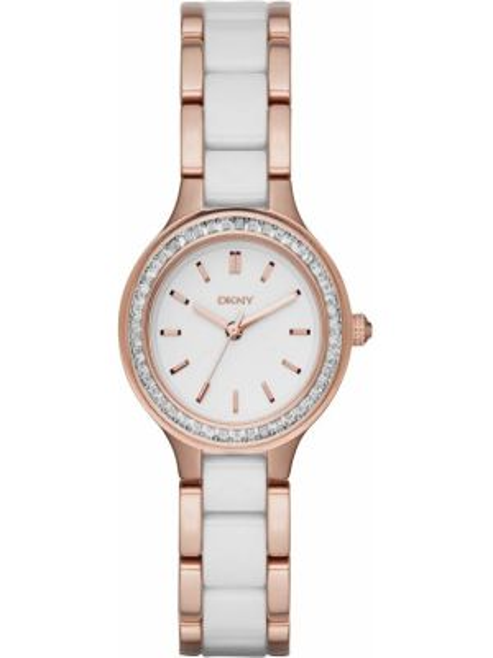 Zegarek miejski biały Dkny