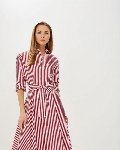 Платье - красное Polo Ralph Lauren