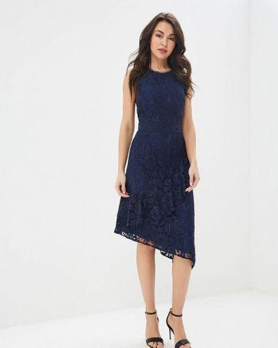 Вечернее платье весеннее синее Warehouse