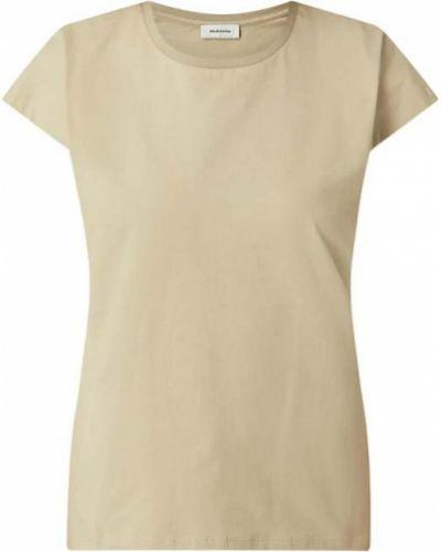 Bluzka bawełniana - zielona Modström