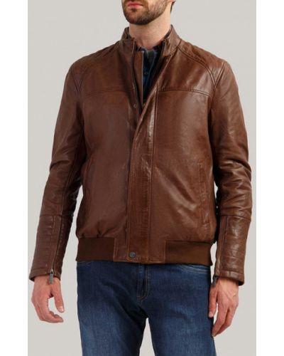 Кожаная куртка индийский Finn Flare
