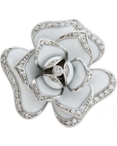 Белая золотая подвеска Jewelry Box
