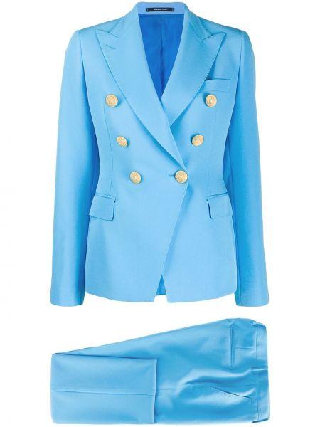 Spodni garnitur kostium niebieski Tagliatore