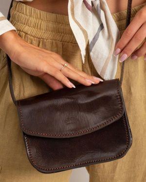 Skórzana torebka torba na torbę crossbody Rovicky