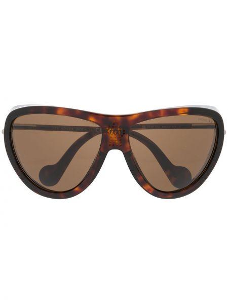 Муслиновые солнцезащитные очки Moncler Eyewear