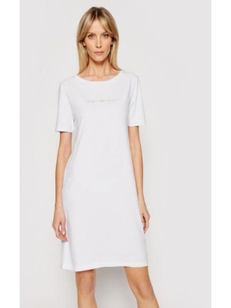 Koszula nocna - biała Emporio Armani Underwear