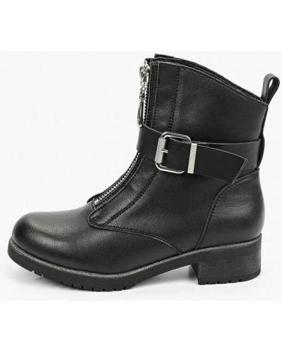 Черные кожаные ботинки O-live Naturalle