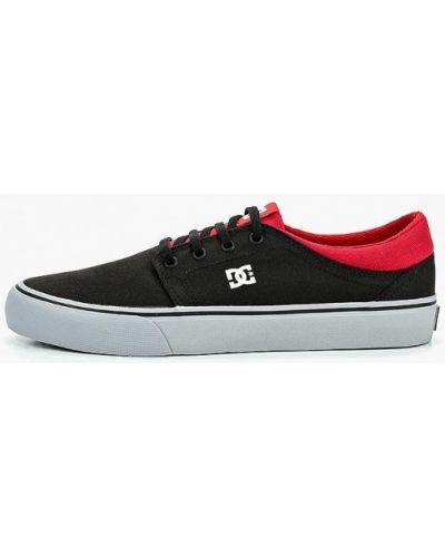 Кеды черные демисезонный Dc Shoes