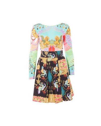 Вечернее платье весеннее хлопковое Class Cavalli